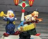 Three clowns musical box. Tune: Send in the clown