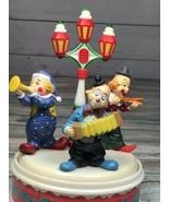 Three clowns musical box. Tune: Send in the clown - $43.01
