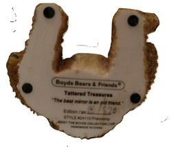 "Boyds Bears Tattered Treasures ""Friendship,"" #24110 image 5"