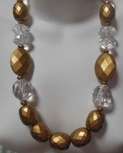 You & I Chunky Large Bead Bold Statement Necklace  - $44.55