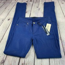 NWT Juicy Couture Women's Bright Lapis Skinny Jean Sz 26 JG008793 MSRP: ... - $96.59