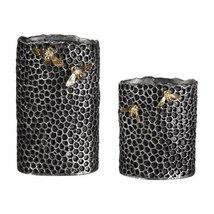 Uttermost 2-Pc Vase Set in Black - $169.40