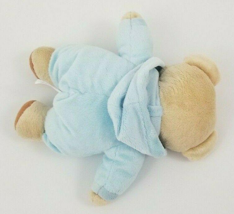 Ty Pluffies Baby Bear Blue Boy Plush Stuffed Toy 2016 image 5