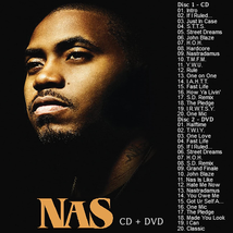 Nas - Power Of The Pen CD/DVD Mixtape 20 Songs & 20 Music Videos - $7.99
