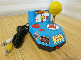 Namco JAKKS Pacific 2004 Ms. Pac Man Plug and Play 5 in 1 Electronic TV Game - $23.36