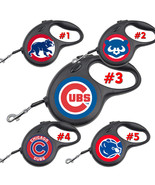 Chicago Cubs Retractable Dog Leash tangle free upto 110 lb pet leashes #1 - $22.30+