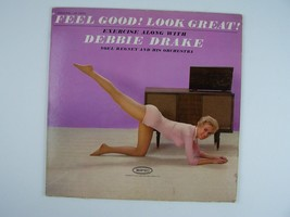 Debbie Drake – Feel Good! Look Great! Vinyl LP Record Album MONO LN 24034 - $8.90