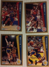 Fleer 1992-92 Basketball Cards (4) - $2.00
