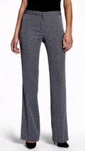 Anne Klein Women's Pants Gray With Black Pants Size 4 X 32 New! - $66.32