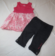 Calvin Klein CK outfit 18M months baby girls 2 pc Dress pants 3602013 NWT^^ - $16.33