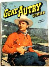 Gene Autry Comics# 34 Dec 1949 Photo Front/Back Cover Golden Age Dell: 4.5 Vg+ - $25.00