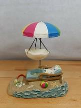 Yankee Candle Hang Beach Lounge Chair & Umbrella Tart Wax Melt Candle Ho... - $35.99