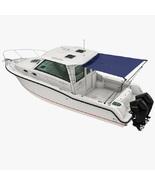 Marine Boat Cabin Cruiser Stern Shade Extension Kit Black Blue Grey MA 0... - $529.00+