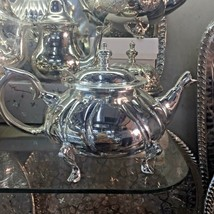 Authentic Moroccan Vintage Handmade Tea Pot Silver X Large **NEW** - $84.15