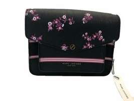 Marc Jacobs Mini Messenger Crossbody Bag (Black / Multi) M0011970 - $197.90