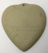 Vtg Cookie Press Cupid Heart Love Craft Brown Bag Food Mold USA Valentines Day image 2