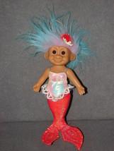 "Russ Berrie Troll Doll: Mermaid 9"" No. 8035 - $22.00"