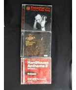 Music CD Lot of 3 The Essential Bands Essential Mix HardHouse Anthems 3 - $9.85