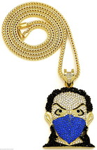 Masked Goon New Pendant Necklace with Franco Style Chain Hip Hop Piece  - $34.75+