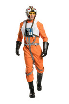 Star Wars Licensed Squadrons Adult X-Wing Fighter Pilot Costume prop Rep... - $250.00