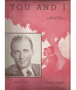 1941 You and I  from Maxwell House Coffee Theme Bing Crosby Vintage Shee... - $9.95