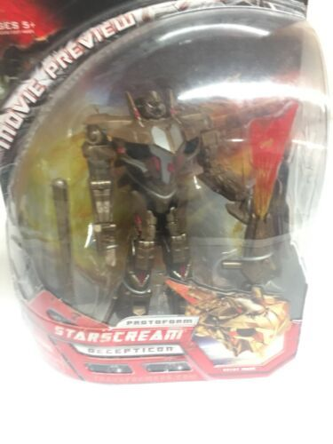 Transformers 2007 Movie Preview starscream Decepticon New In Package age 5+ image 5