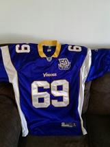 Vikings  on field  jersey by Reebok size 50  J. Allen  - $75.00