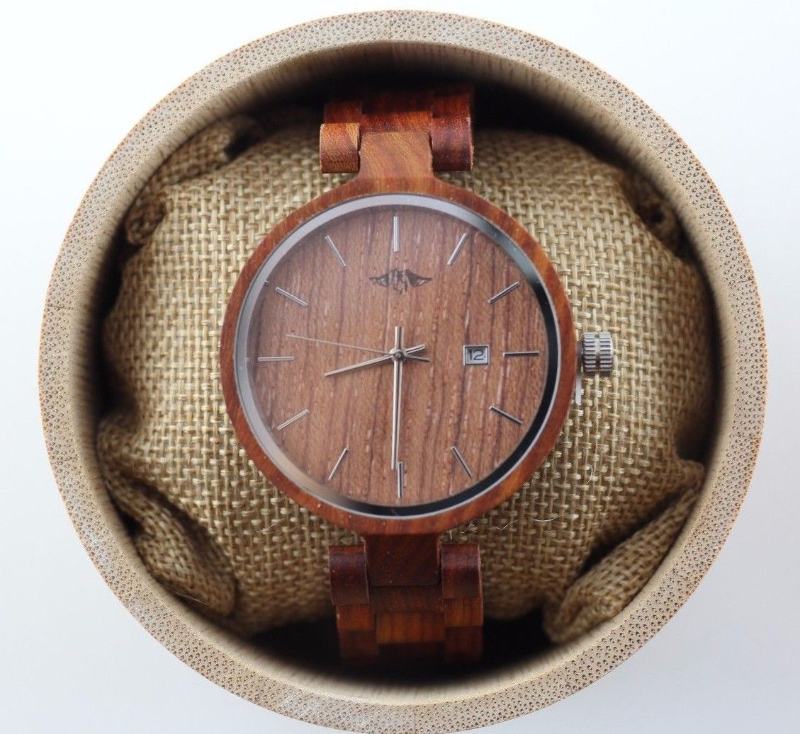 Red Scandal Wood watch, personalized watch, women watch, wood watch