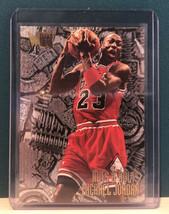1995-1996 Michael Jordan Fleer Metal Nuts & Bolts #212 Bulls - $18.81
