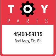 45460-59115 Toyota Rod Set Tie Rh, New Genuine OEM Part - $58.90