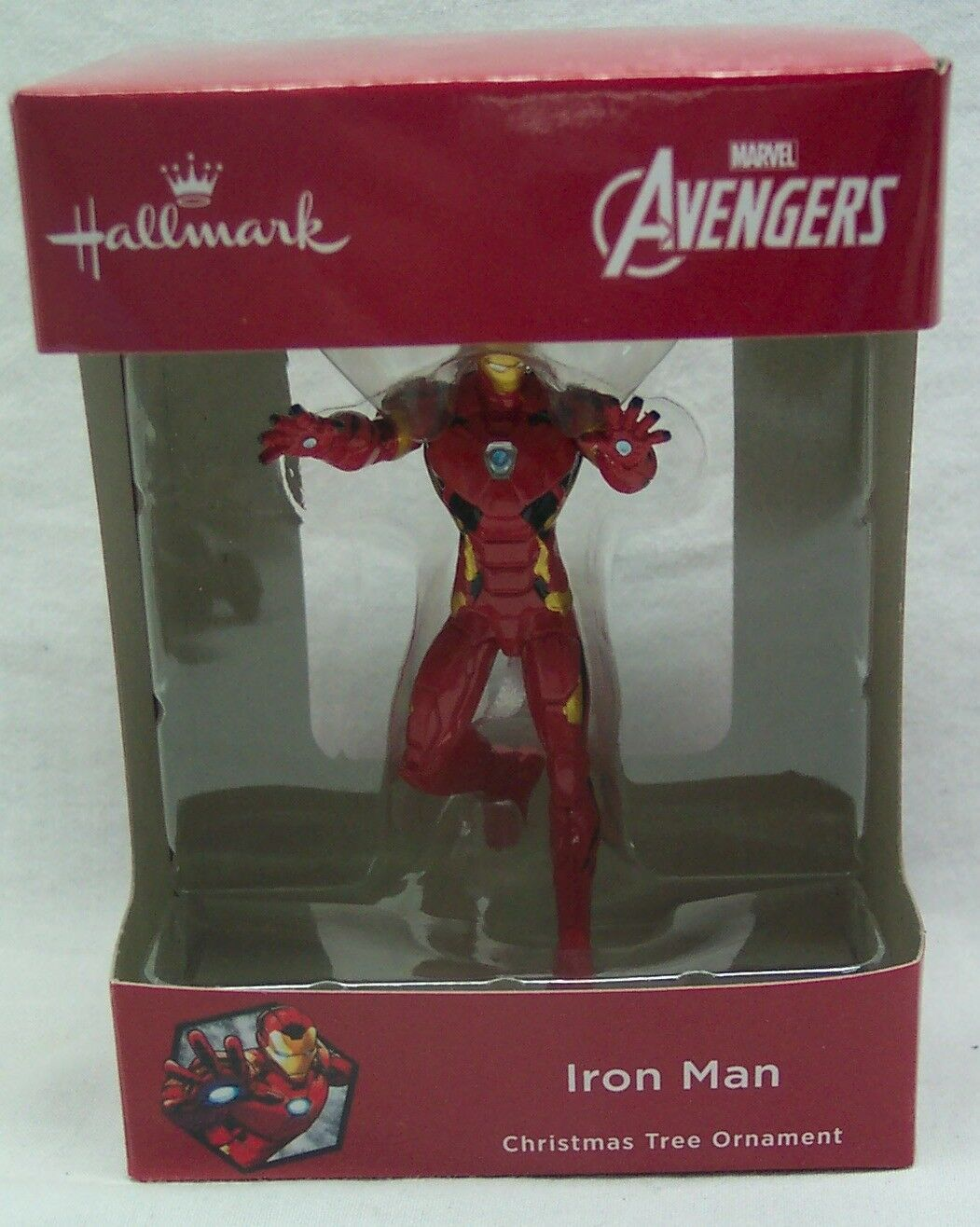 "HALLMARK Marvel Comics Avengers IRON MAN 3"" HOLIDAY CHRISTMAS TREE ORNAMENT NEW"