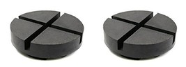 TMB Motorsports 2 Pack Extra Large Rubber Universal Floor Jack Pad Adapter - $27.50