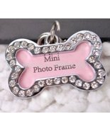 Stainless Steel Pet Cat Dog ID Tags Customized Personalized Bone Shaped ... - $2.92