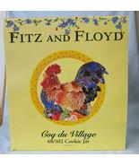 Fitz & Floyd Cog Du Village Cookie Jar, New in Box - $119.68