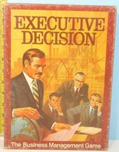 Executive Decision The Business Management Game 3M Bookshelf Series 1971... - $19.80