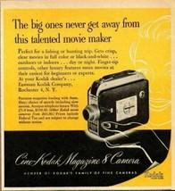 1952 Print Ad Cine-Kodak Magazine 8 Movie Cameras Eastman Rochester,NY - $11.82