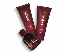 Avon Velvet For Her Trinity Gift Set  - $48.98