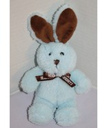 "Hersheys EASTER BUNNY RABBIT 7"" Galerie Chocolate Brown Blue Plush Stuff... - $15.45"