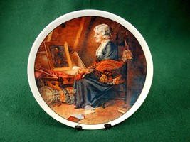 "Rockwell 1979 Collector Plate ""REFLECTIONS"" Certificate 07750C Box PLT-11 - $12.69"