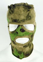 Russian Military Special Forces Army 3 Hole Face Mask Balaclava Moch (Moss) Camo - $6.45
