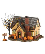 Department 56 Snow Village Halloween Pumpkin House Lit Building - $250.99