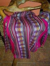 Textile collection Blanket tribal decor - $32.00