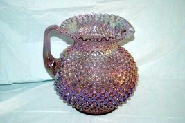Fenton Irridescent Lavender Hobnail 80 Oz. Pitcher - $159.38