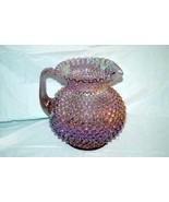 Fenton Irridescent Lavender Hobnail 80 Oz. Pitcher - $159.38