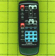 Canon WL-D75 REMOTE ✚ Elura2 Elura20 MC Digital Camcorder MANUAL ● Teste... - $14.20