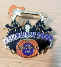 Hard Rock Cafe Pin Atlantic City Halloween 2000 Pin Witch Bats Pumpkin - $13.99