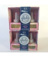 Glade Plugins No 2 Bright Scented Oil Refills Sweet Pea Pear Atmosphere ... - $28.05