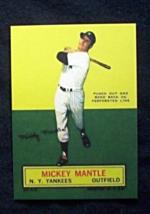 1964 Topps Stand-Ups Baseball #45 Mickey Mantle [New York Yankees] Reprint - $3.75
