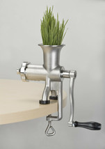 Miracle Exclusives MJ445 Manual Stainless Steel Wheatgrass Juicer - $133.60