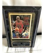 1992-1993 Topps Michael Jordan All star Card Near Mint In Display Case - $59.99